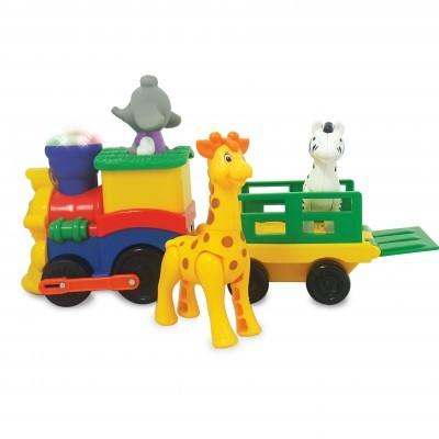 Comboio de atividades na selva sonoro