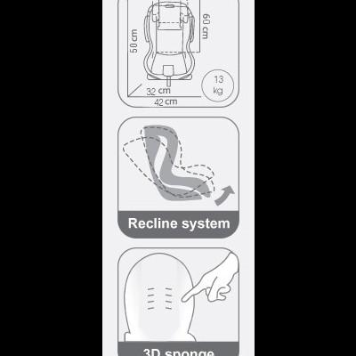 Cadeira auto FABIO ISOFIX