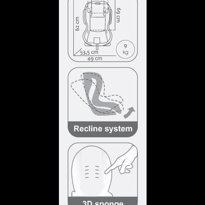 Cadeira auto Vivaro