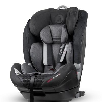 Cadeira auto Impero Isofix Black