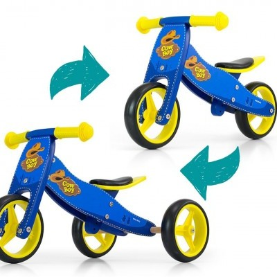 Triciclo 2 em 1 Jake
