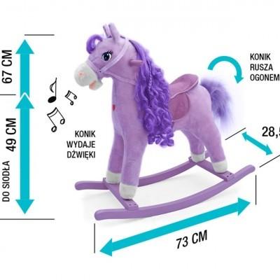 Cavalo de Balanço Princess 36m+