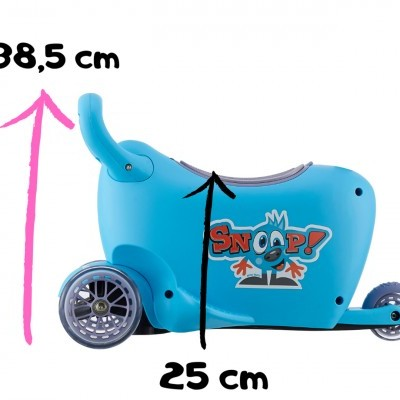 Triciclo 3 em 1 Snoop