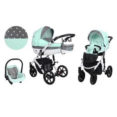 Carrinho de Bebé 3 em 1 modelo LAVADO