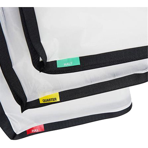 Litepanels Snapbag Cloth set Gemini 1x1, 1/4, 1/2, Full