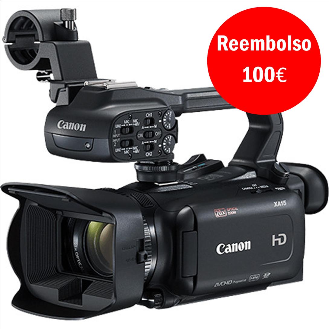 Canon XA15 Powerkit - Oferta de Bateria Adicional BP820