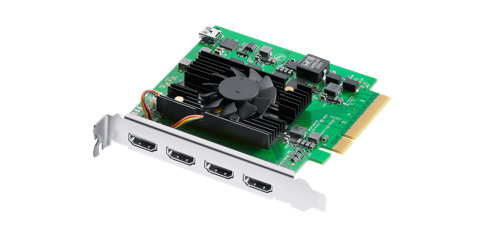 Blackmagic Design DeckLink Quad HDMI Recorder