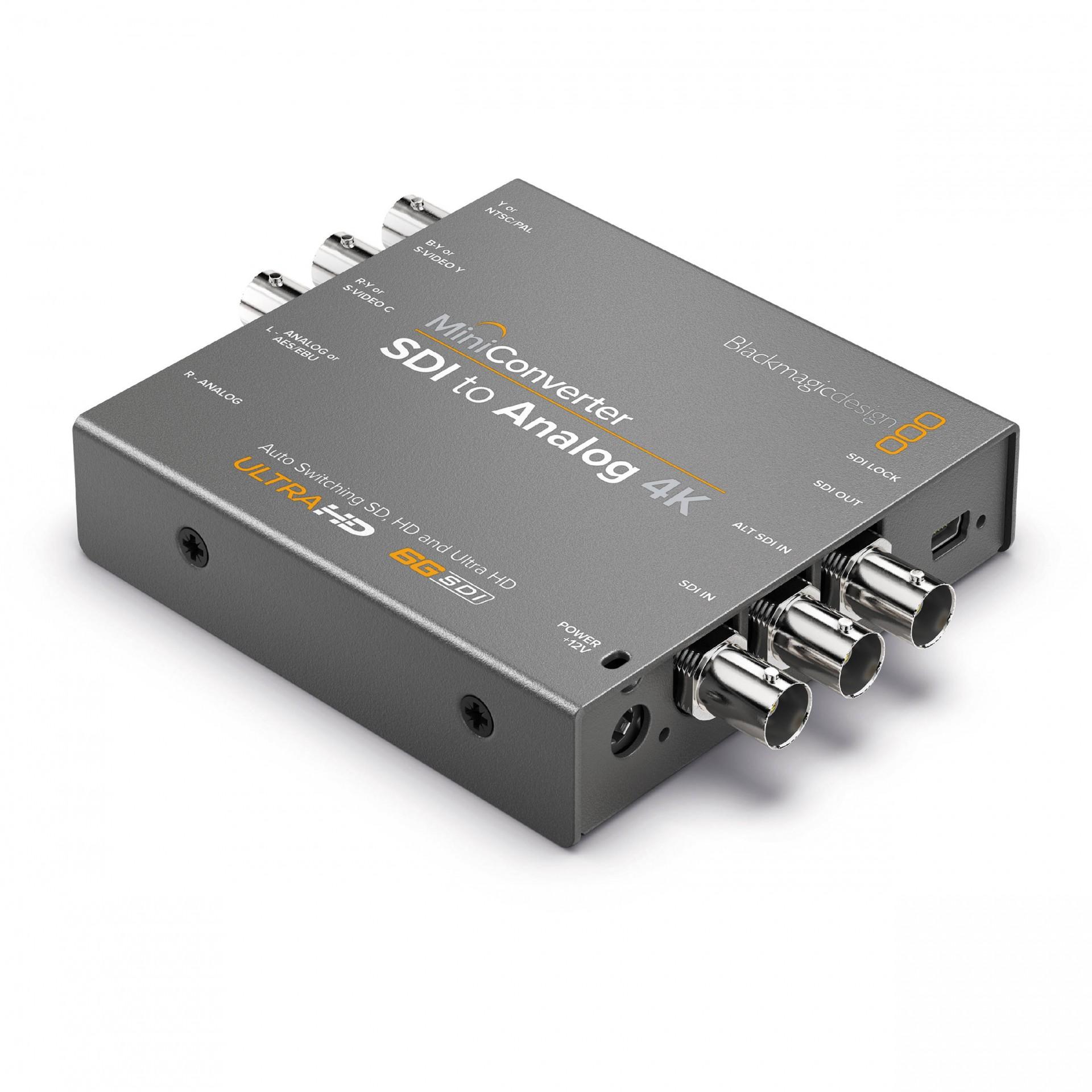 Blackmagic Mini Converter - SDI to Analog 4K