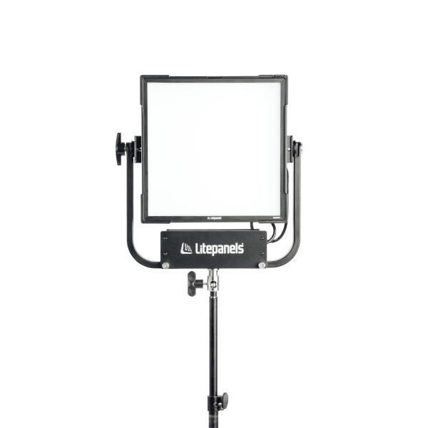 Litepanels Gemini 1x1 Soft Panel, Bare Ends Power Cable, Pole Operated