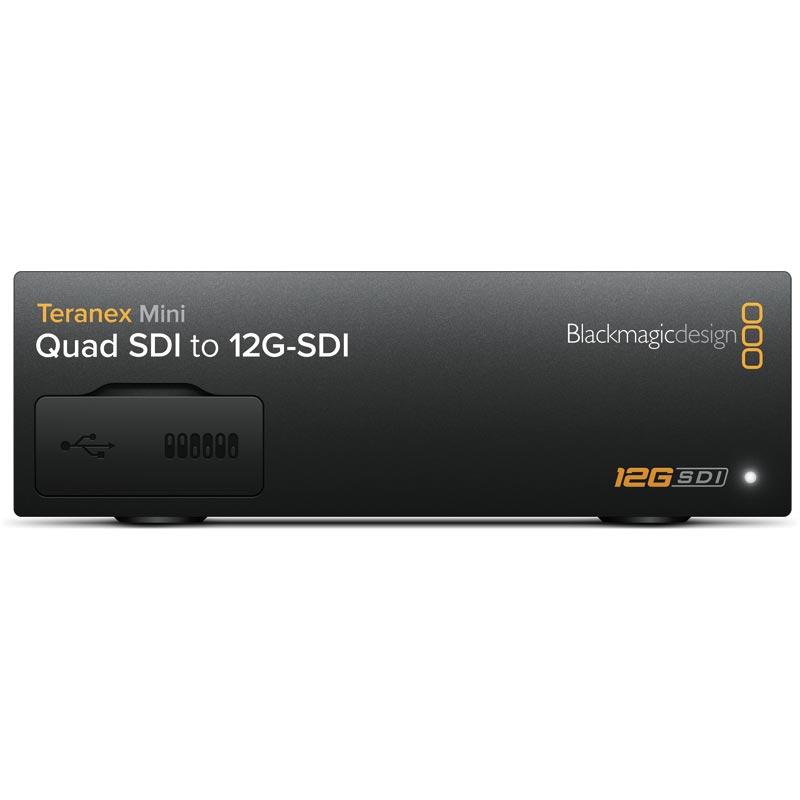Blackmagic Teranex Mini - 12G-SDI to Quad SDI