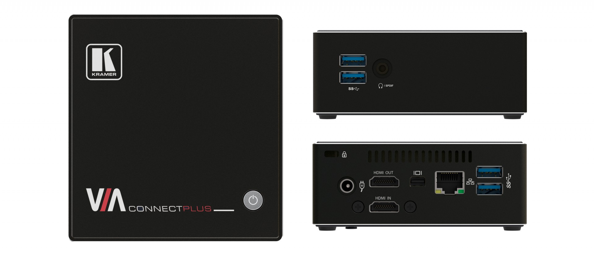 Kramer VIA Connect PLUS Simultaneous Wired and Wireless Presentation and Collaboration Solution