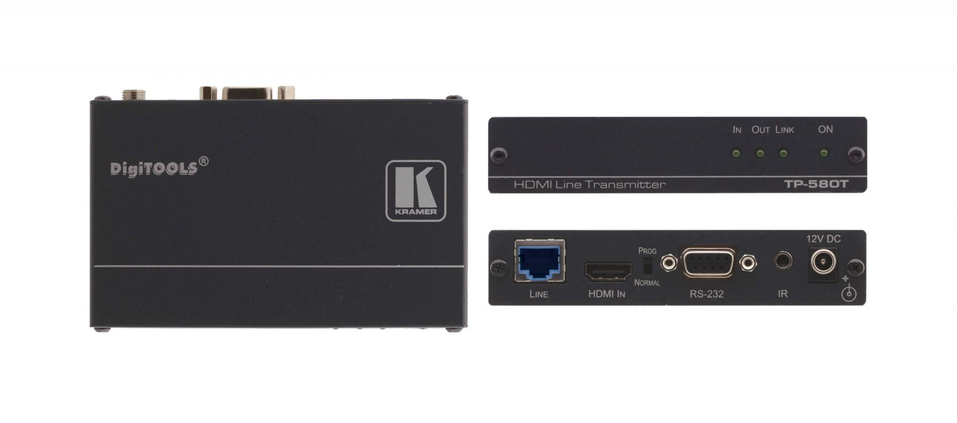 Kramer TP-580T - 4K60 4:2:0 HDMI HDCP 2.2 Transmitter