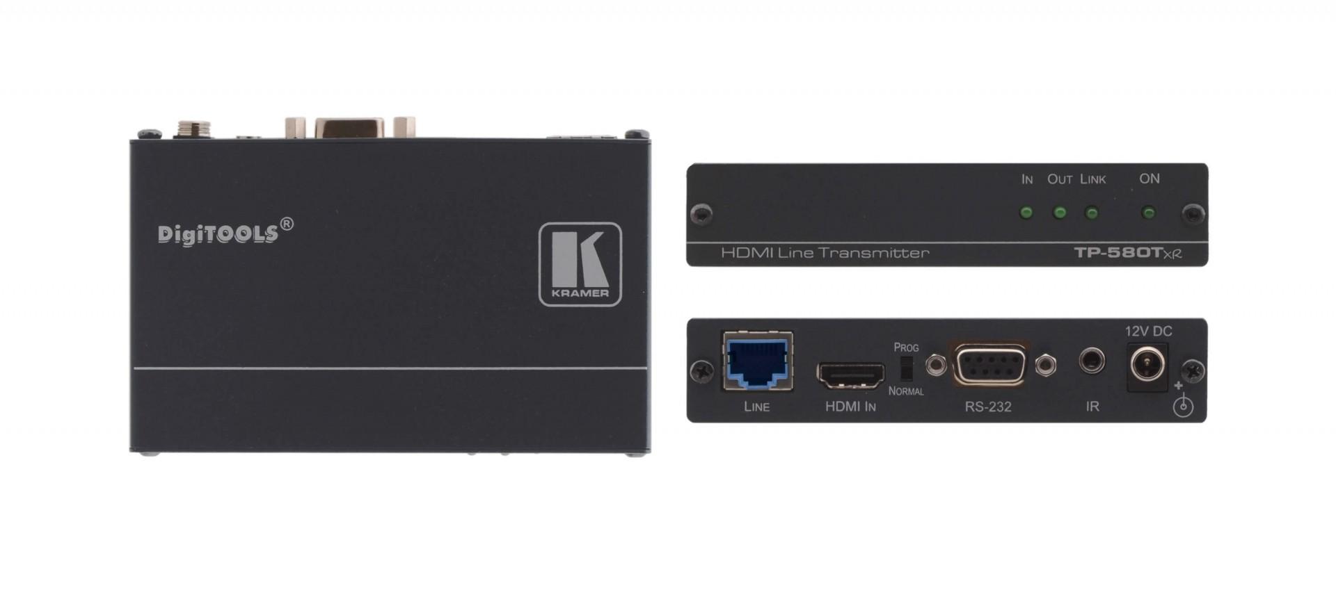 Kramer TP-580Txr - 4K60 4:2:0 HDMI HDCP 2.2 Transmitter