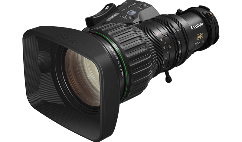 Canon CJ18ex7.6B KASE S