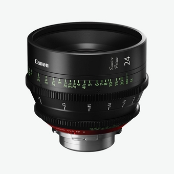 Canon Sumire Prime Lens CN-E24mm T1.5 FP