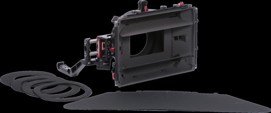 Vocas Kit Matte Box para Câmaras c/ rail suporte 15mm (Inclui SA & Donut ring adapter) MB-455