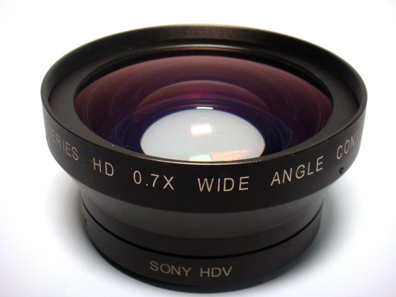 Vocas Lente Conversora Grande Angular de 0.7x para Sony HDR-FX1 e HVR-Z1U