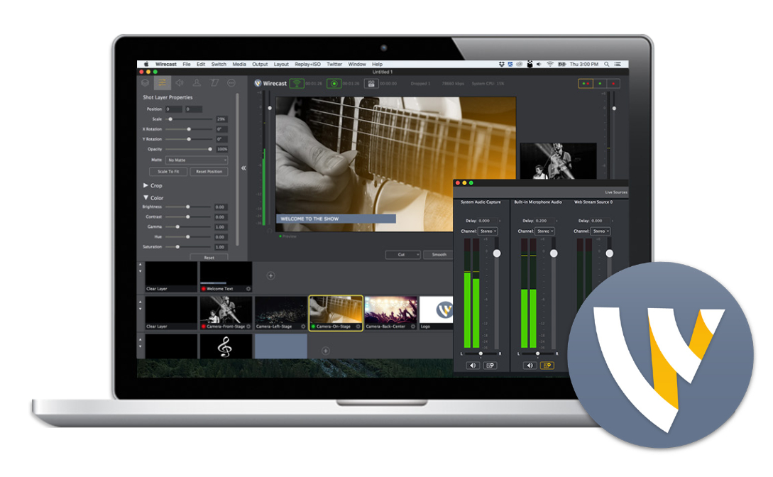 Telestream Wirecast Pro 14