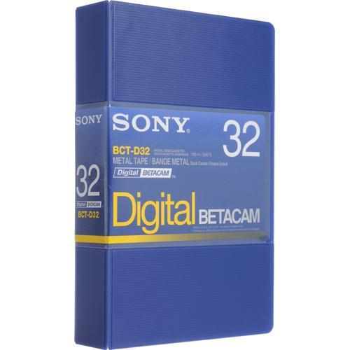 Sony Cassete BCT-D32 para Betacam Digital
