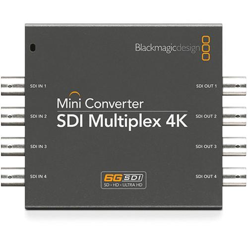 Blackmagic Mini Converter - SDI Multiplex 4K