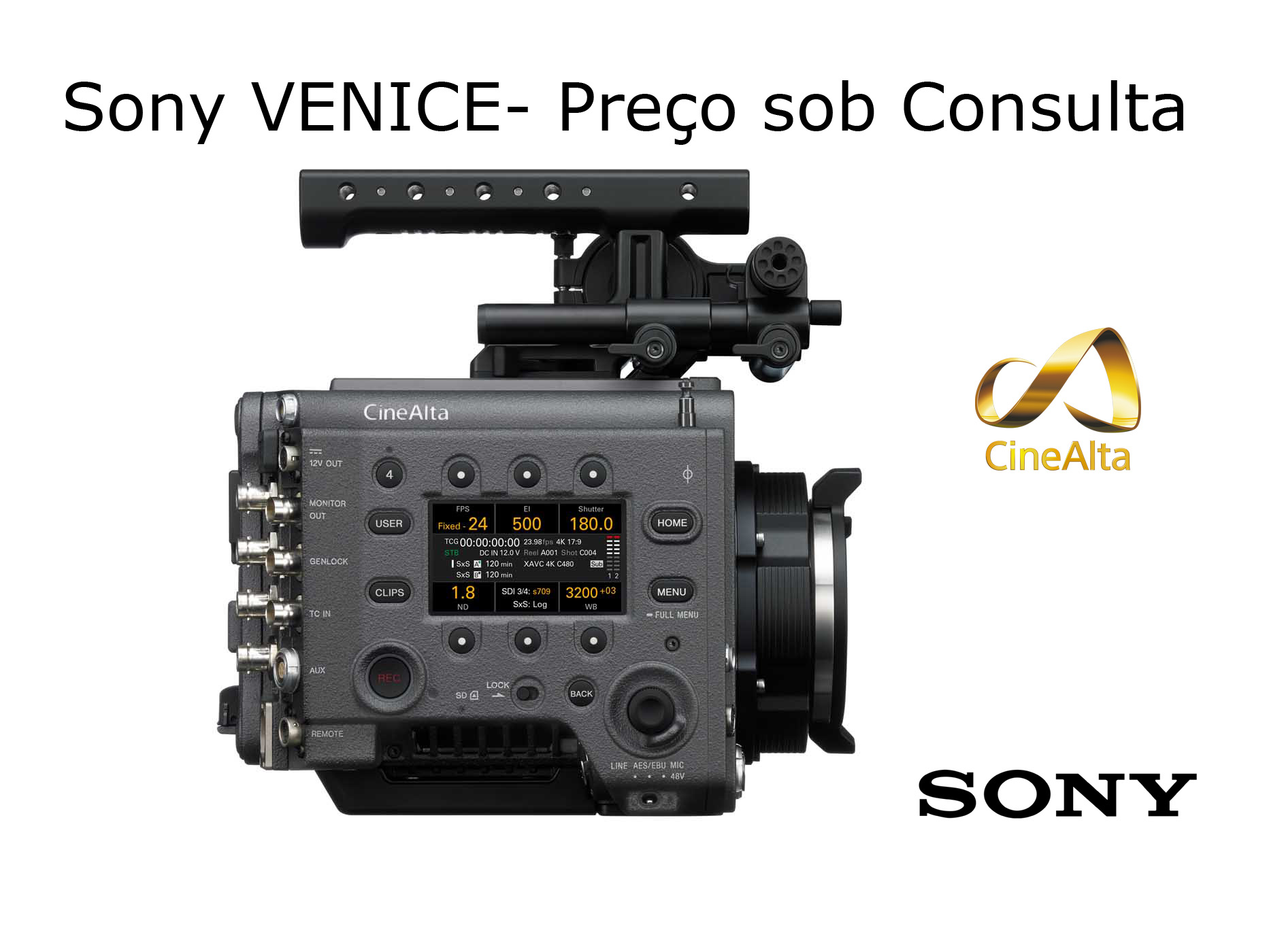 Sony VENICE CineAlta Full Frame 6K Sensor Motion Picture