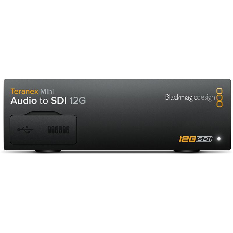 Blackmagic Teranex Mini - Audio to SDI 12G
