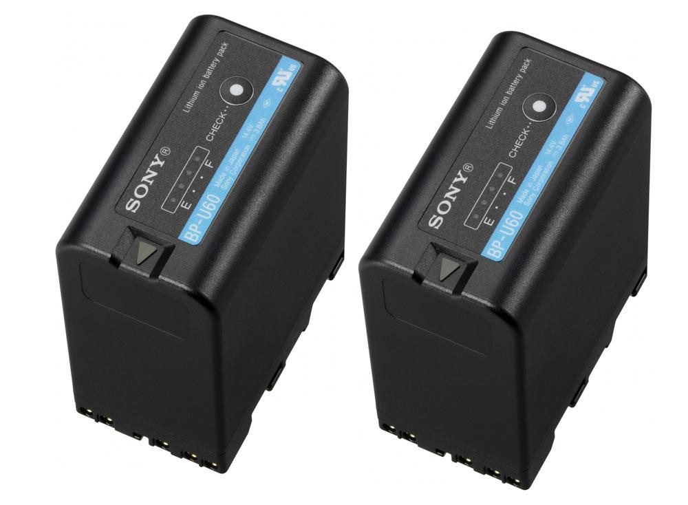 Sony Pack 2 baterias BP-U60