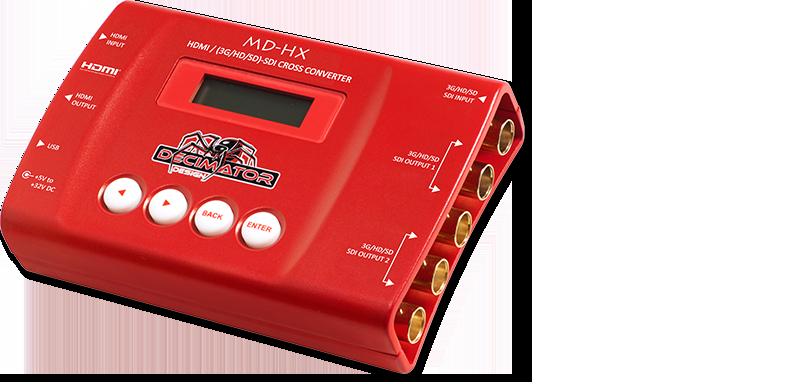 Decimator MD-HX: HDMI/SDI Cross Converter w/ Scaling & Frame Rate Conversion