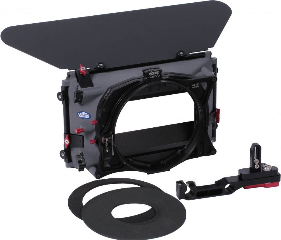 Vocas Kit Matte Box para Câmaras c/ rail suporte 15mm (Inclui SA & Donut ring adapter) MB-435