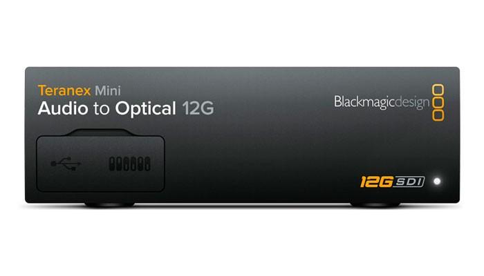 Blackmagic Teranex Mini - Audio to Optical 12G