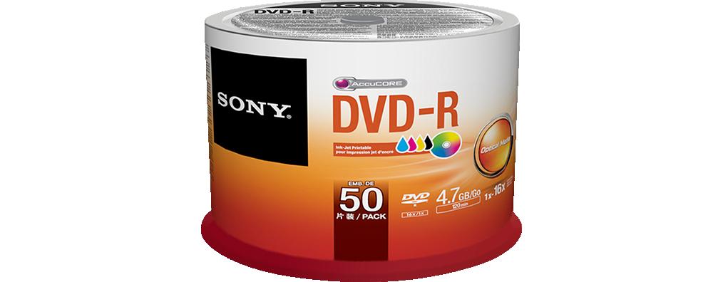 Sony Caixa cilíndrica DVD-R JP (Caixa de 6)