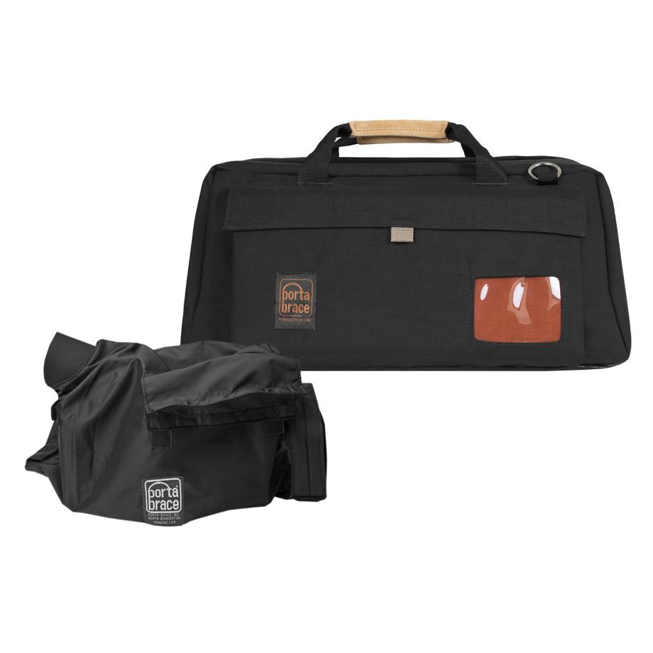 Porta Brace CS-DV4RQS-M4 Camera Case SOFT, BLACK, XL