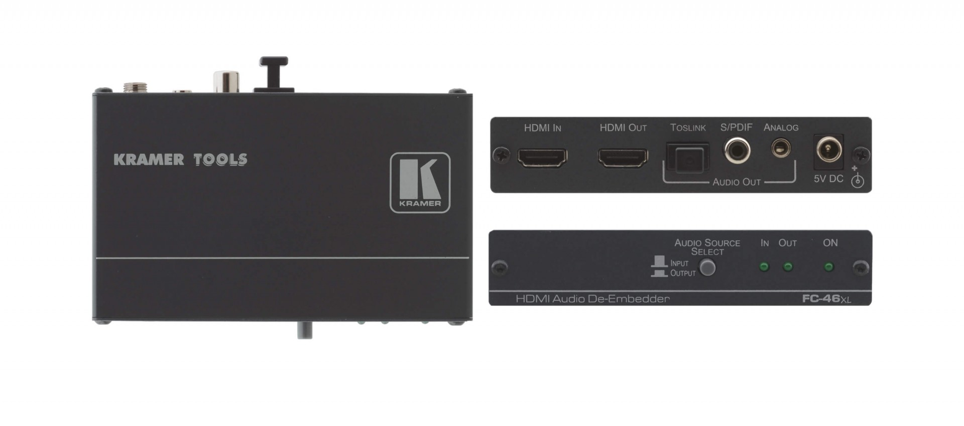 Kramer FC-46xl HDMI Audio De–Embedder