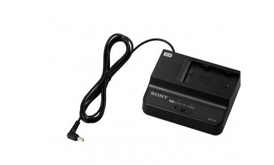 Sony Carregador/adaptador CA de bateria para bateria de íon de lítio BP-U90/U60/U60T/U30
