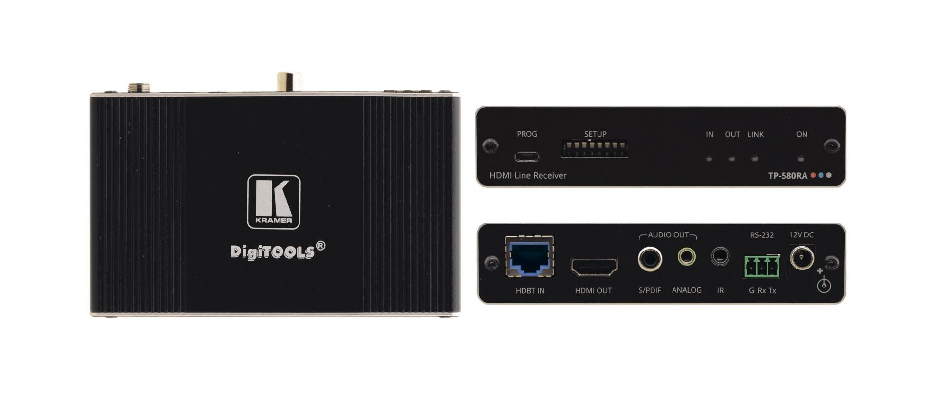 Kramer TP-580RA - 4K60 4:2:0 HDMI Receiver