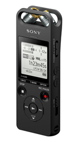 Sony Gravador Digital Portátil de áudio - ICD-SX2000 Hi-Res