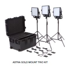Litepanels Astra 3X Trio Gold Mount Kit