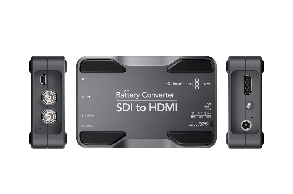BlackMagic Battery Converter SDI to HDMI