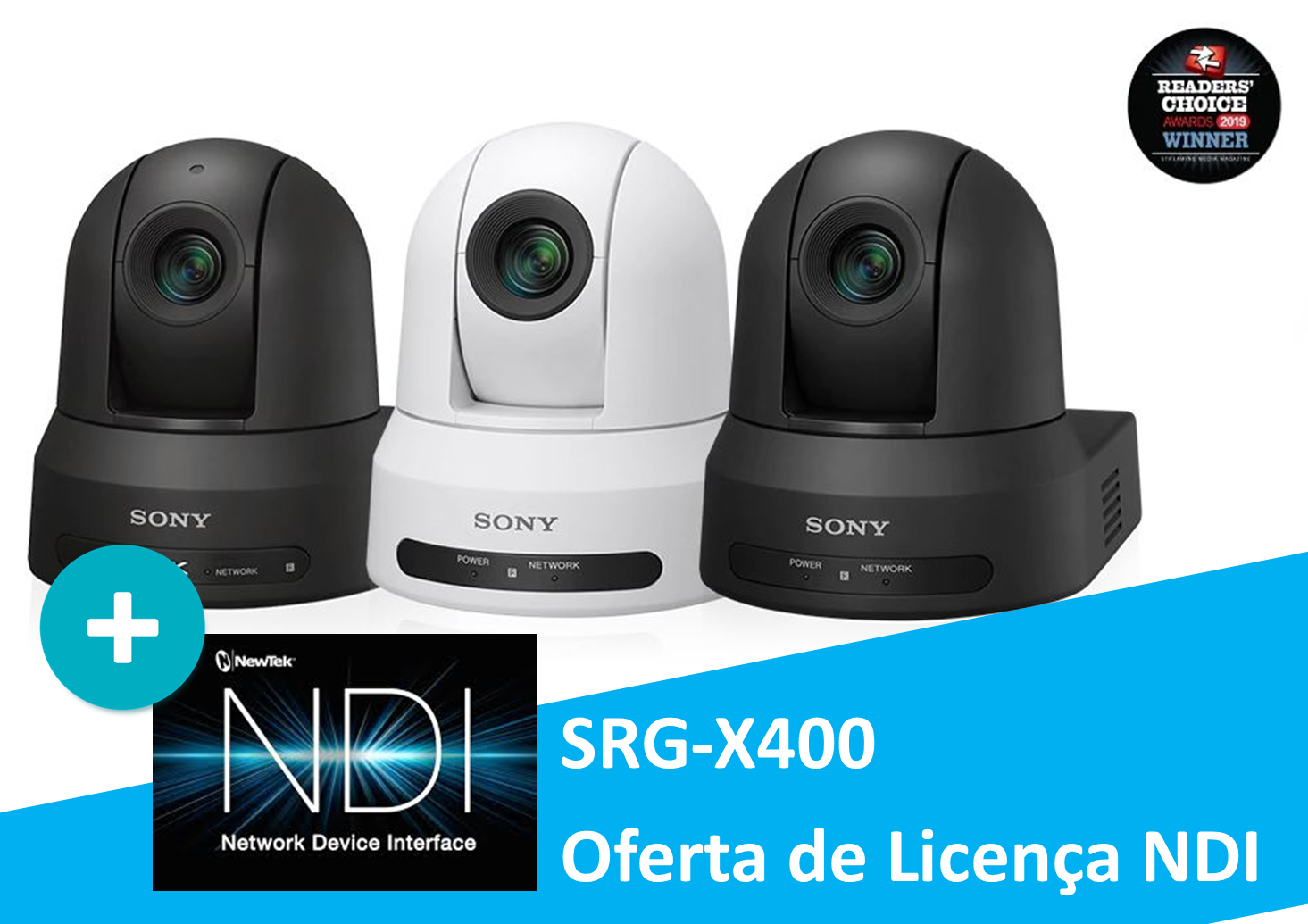 Sony SRG-X400 - Inclui Oferta Licença NDI