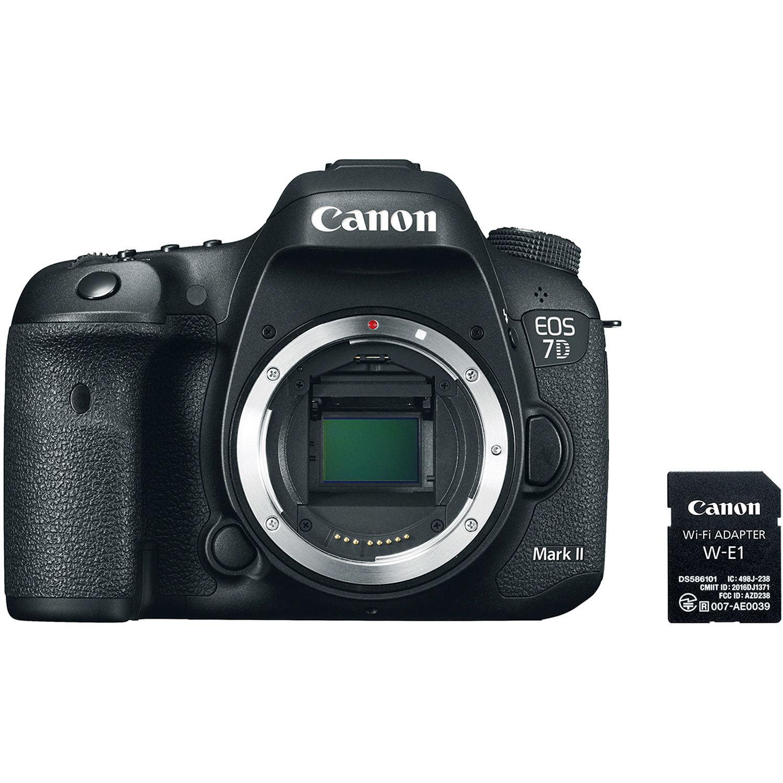 Canon EOS 7D Mark II + Wi-Fi Adapter W-E1