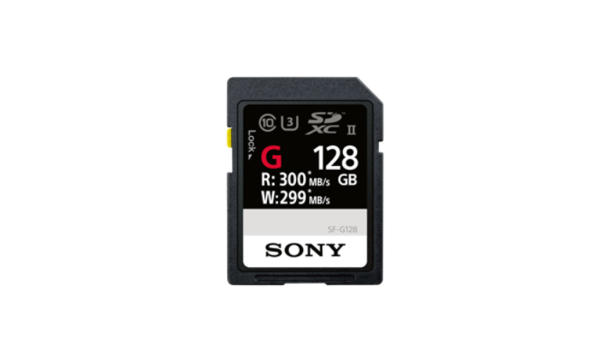 Sony Cartão de memória SD UHS-II Série SF-G -128 GB