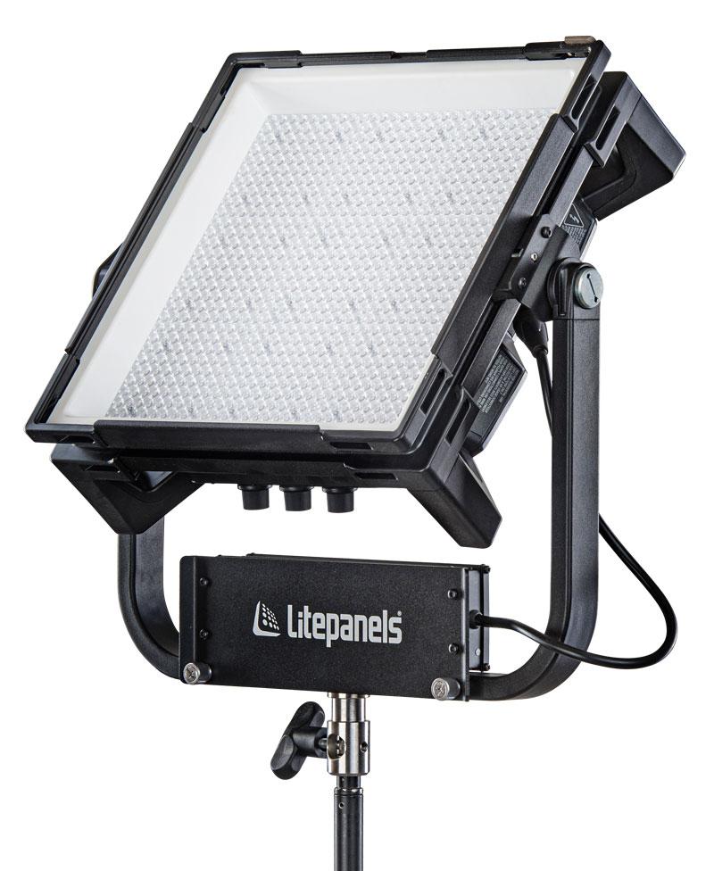 Litepanels Gemini 1x1 Hard RGBWW LED Panel (Standard Yoke, EU Power Cable)