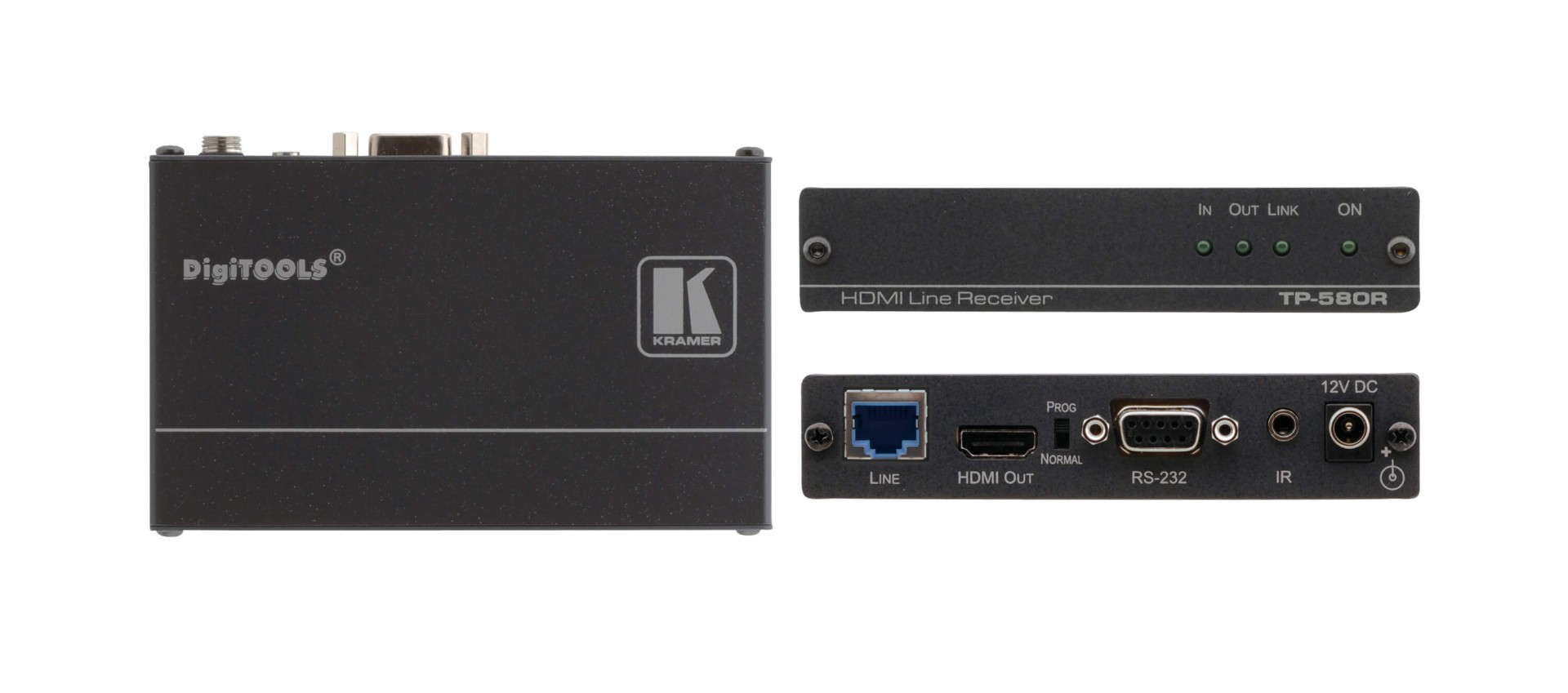 Kramer TP-580R - 4K60 4:2:0 HDMI HDCP 2.2 Receiver