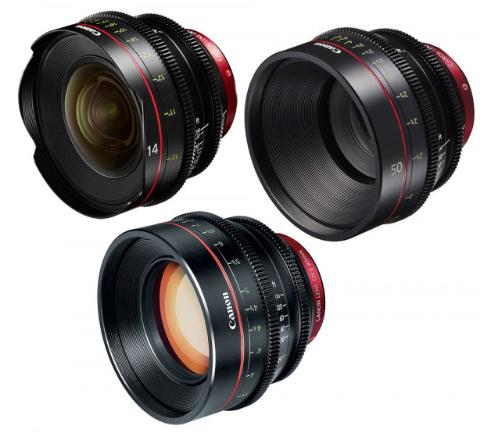 Canon EF Primes Bundle 14/50/85 (M)