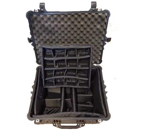 Pelicase 1620 - Caixa Média de Transporte com Compartimentos