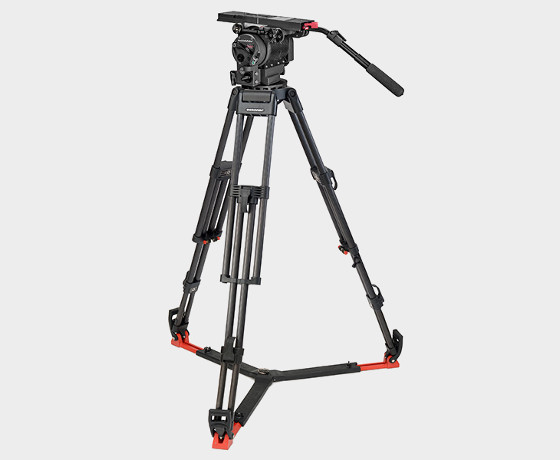 O'Connor C2560-60L150-F 2560 Head & 60L 150mm Bowl Tripod with Floor Spreader
