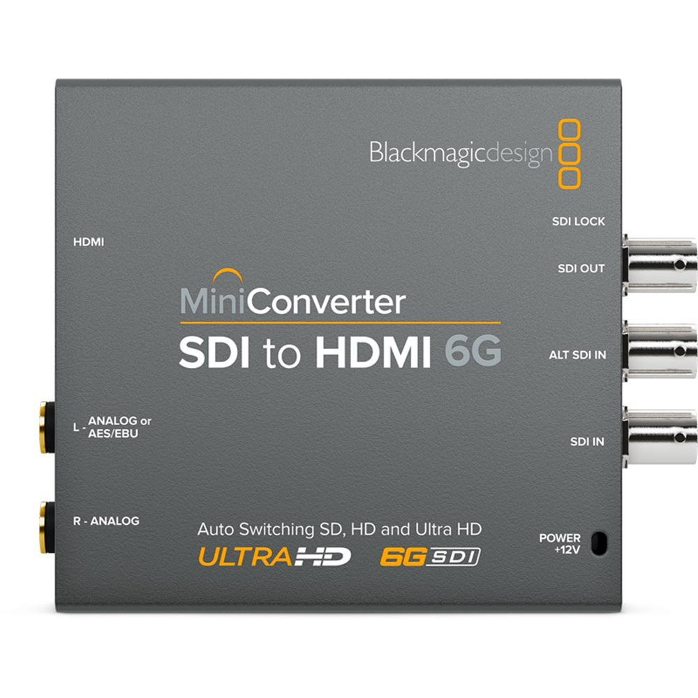 Blackmagic Mini Converter - SDI to HDMI 6G