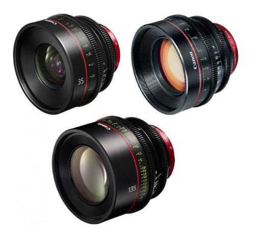 Canon EF Primes Bundle 35/85/135 (M)