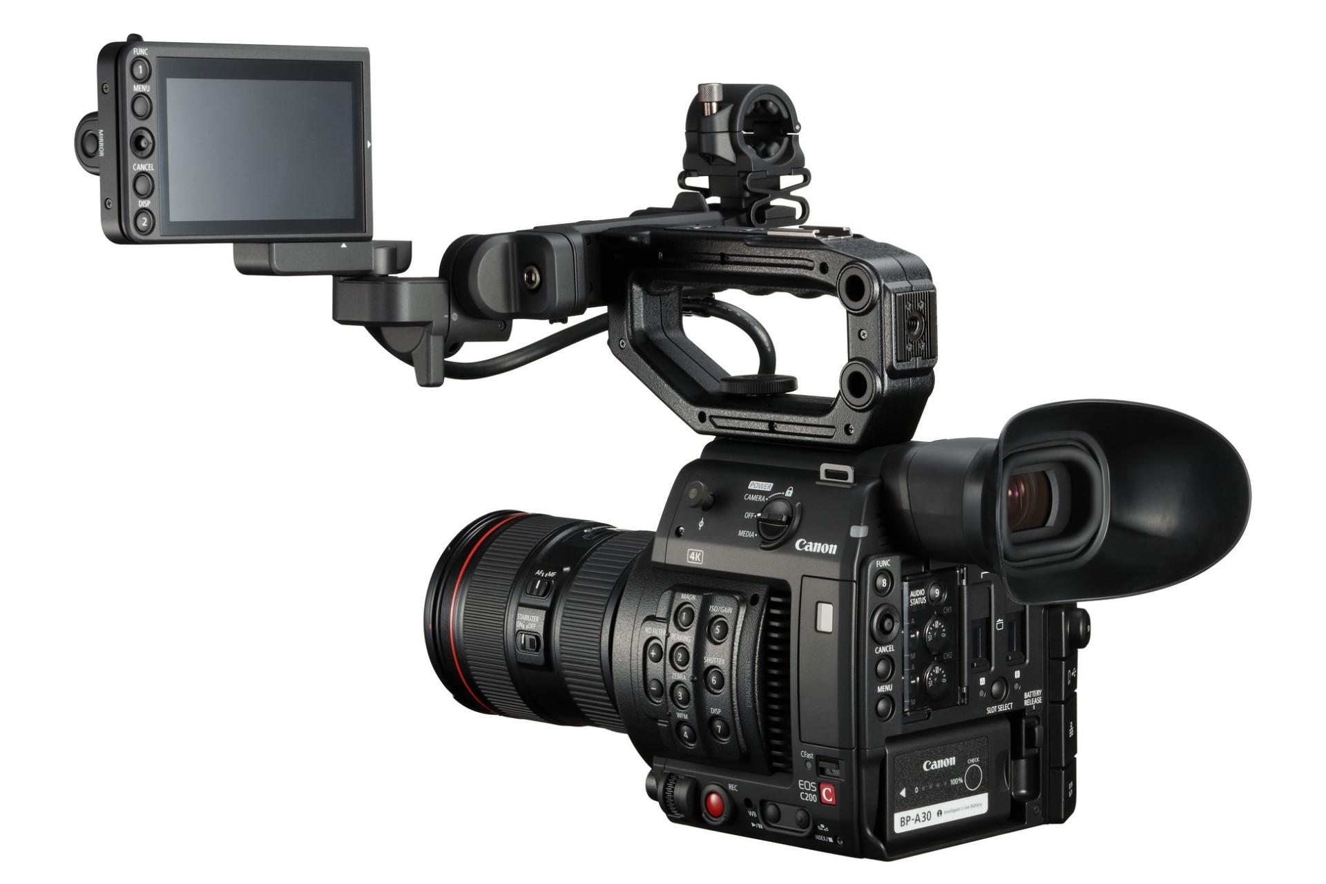 Canon EOS C200 EF + Cartão CFast 128GB + Leitor Cartões CFast