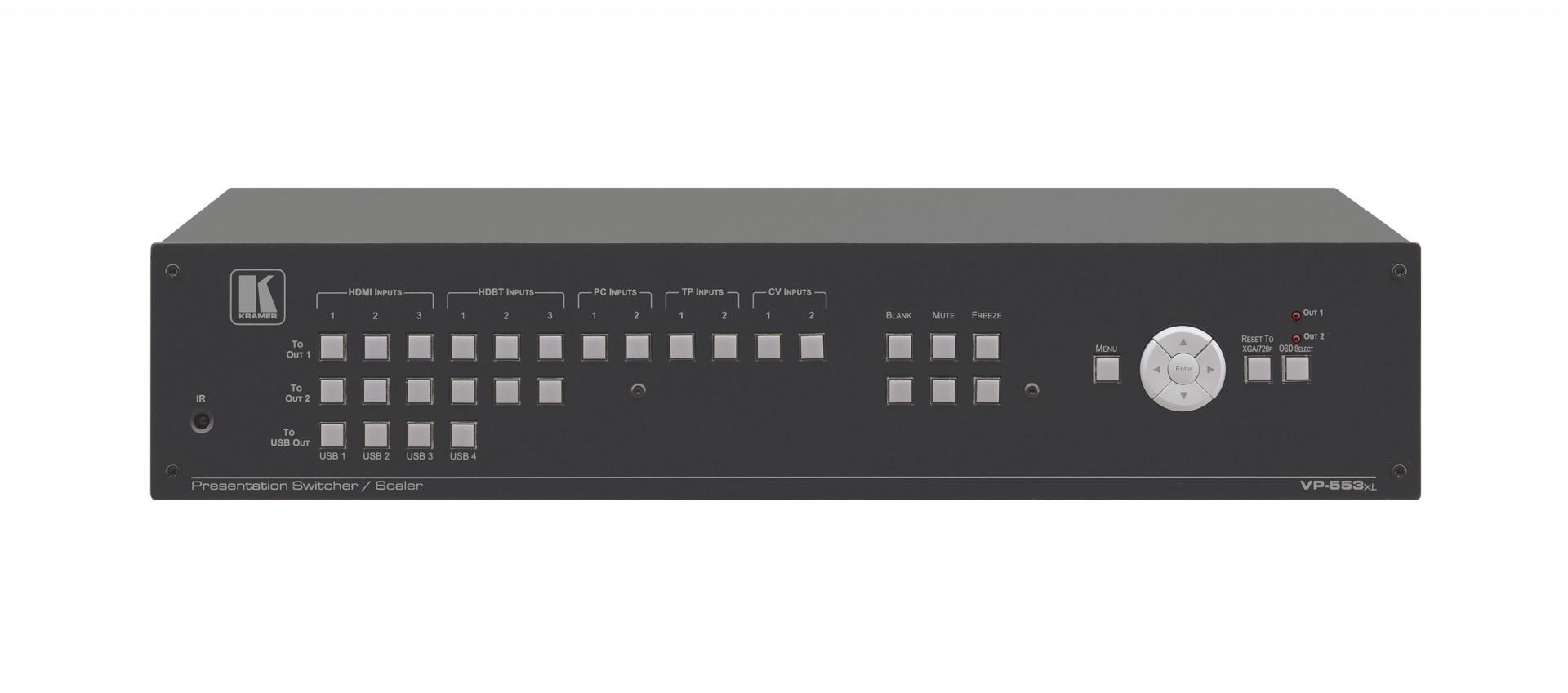 Kramer VP-553xl Boardroom Presentation Switcher/Dual Scaler